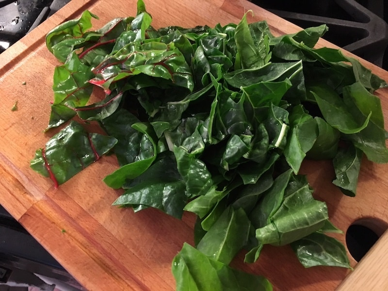 Chard is so easy to prepare and use.
