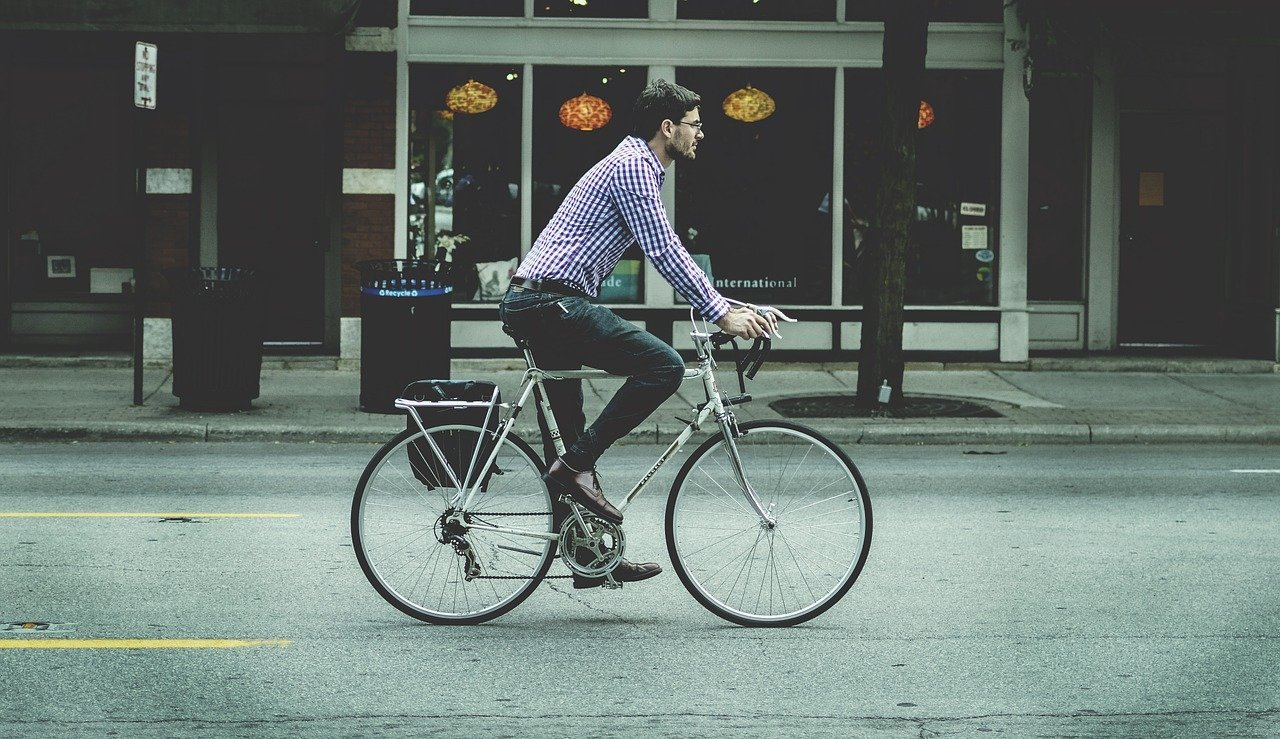 Biking is a good exercise for mental health