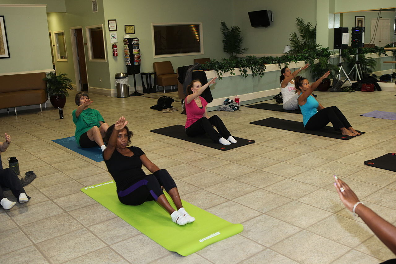 PiYo classes are motivating was to workout
