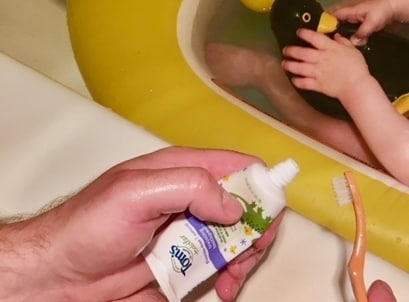 Tom's of Maine toddler toothpaste