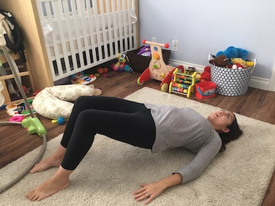 easy core strengthening bridge