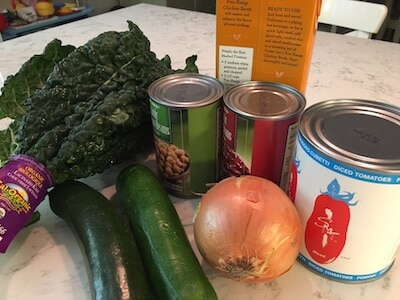 healthy one pot meal ingredients