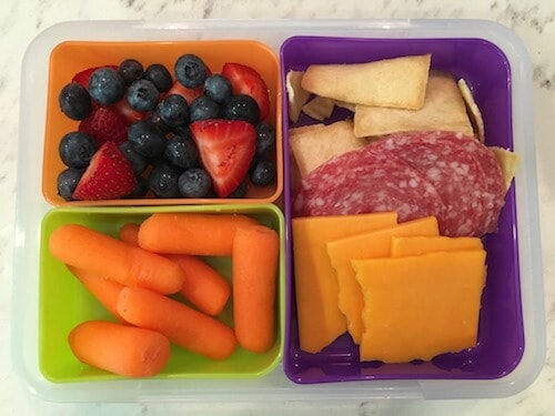A bento box helps make a tasty snack or full lunch.