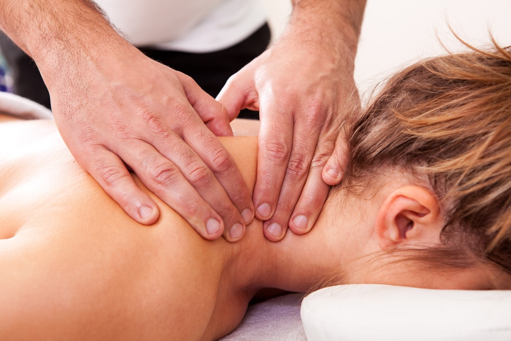 Getting a massage is an effective remedy for sore muscles.