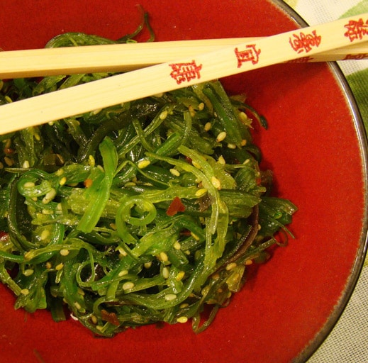 Seaweed salad is a great way to incorporate seaweed into your diet