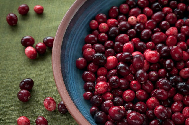 Lighten things up with fresh cranberries instead of the canned version.
