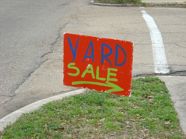 Sell the donation items in a yard sale and donate the profits instead.