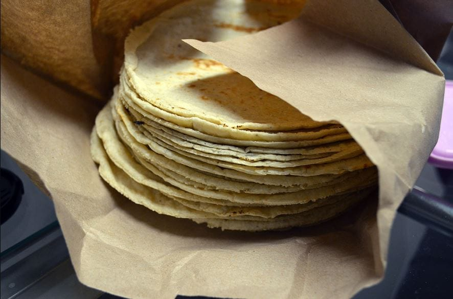 Corn Tortillas are an ideal alternative to wheat bread