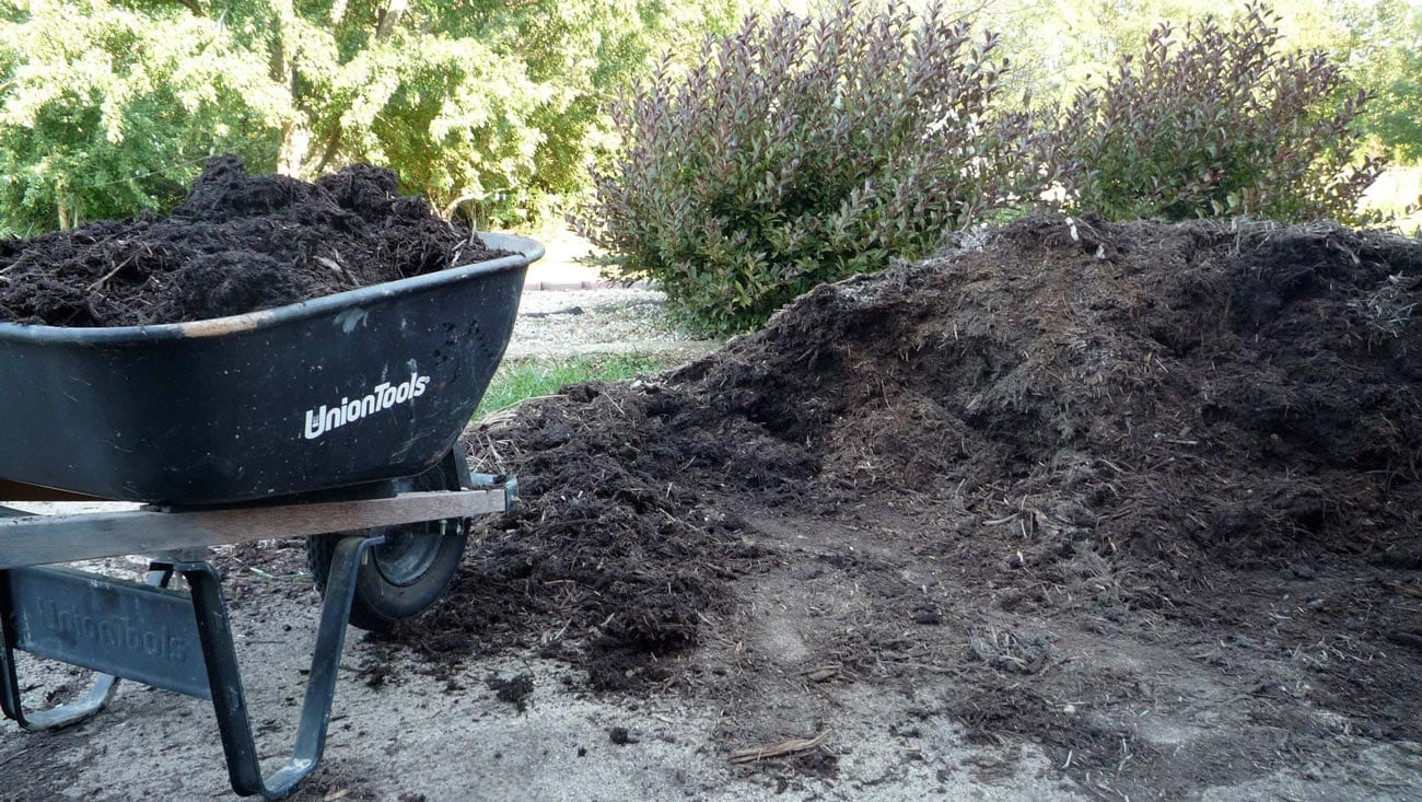 Locally sourced mulch is great for your garden.