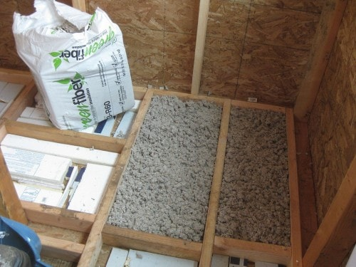 cellulose insulation is one form of green insulation
