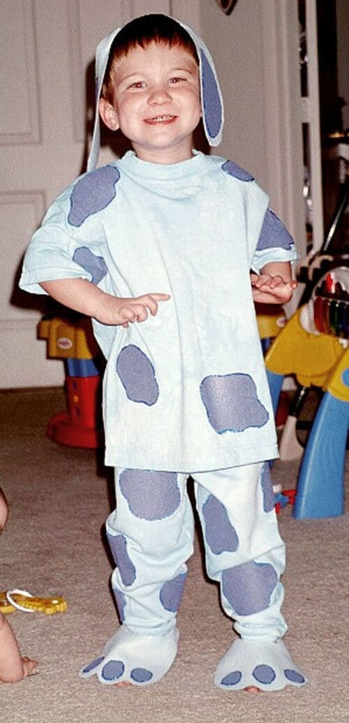 no sew blues clues costume