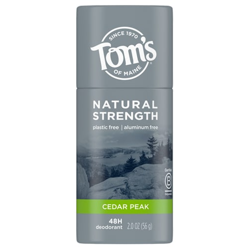 Men's Natural Strength Plastic Free Deodorant