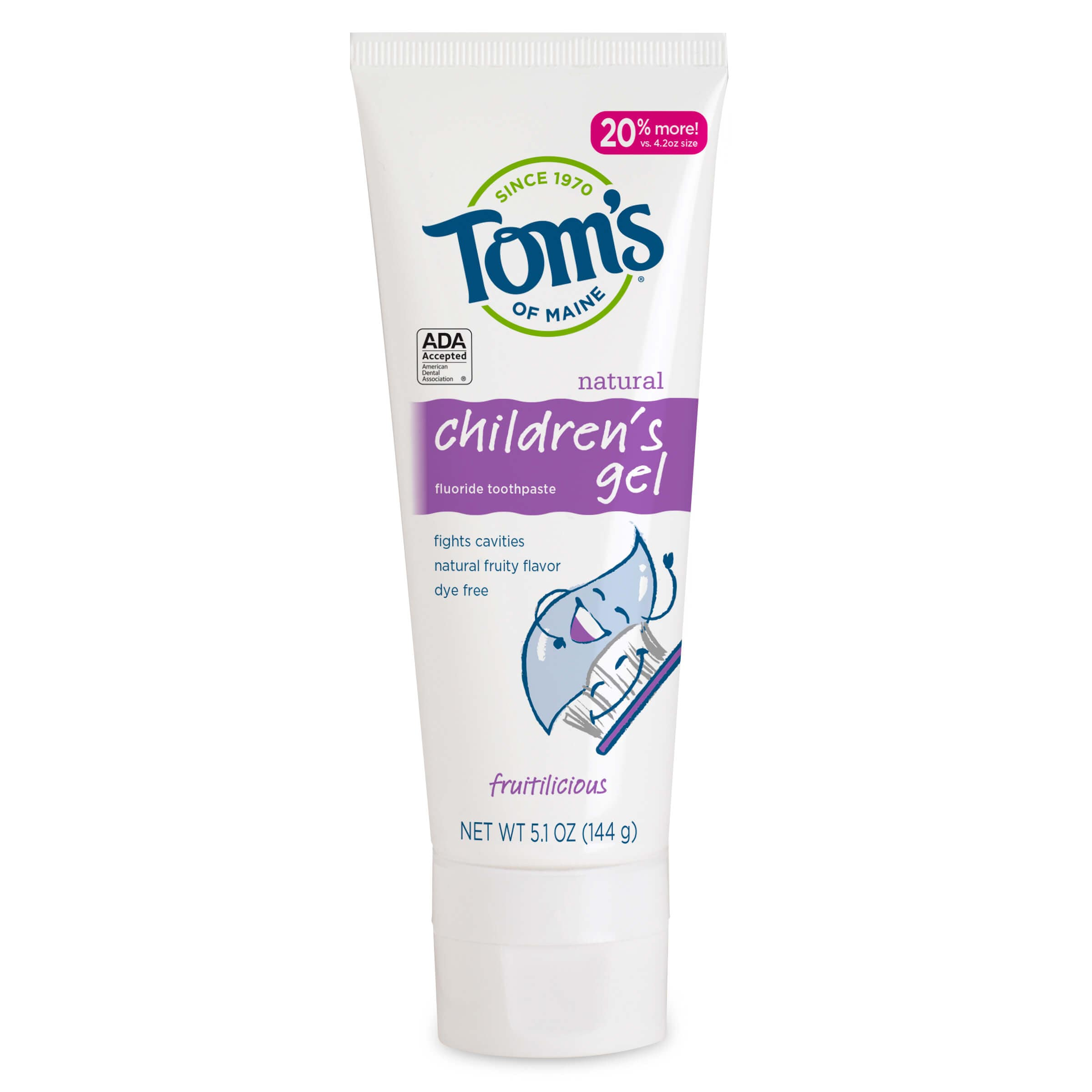 Children's Gel Toothpaste
