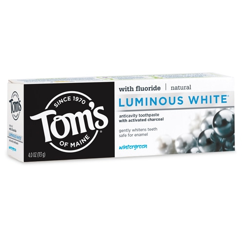 Luminous White® Toothpaste Activated Charcoal