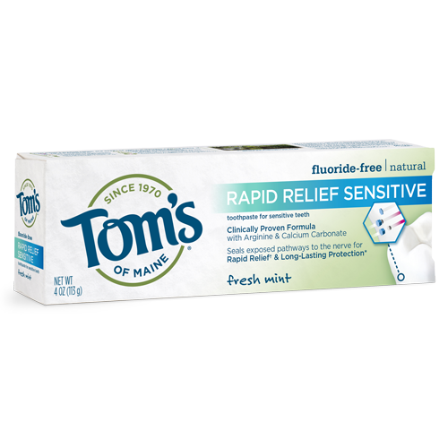Fluoride-Free Rapid Relief Sensitive Toothpaste