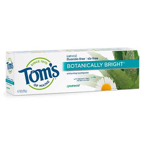 Fluoride-Free Botanically Bright® Toothpaste